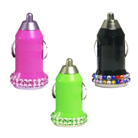 Universal USB Car Charger Adapter - Bling