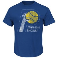 Majestic Indiana Pacers Post Up Hardwood Classics Tee