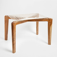 GEOMETRICAL ROPE BENCH - Occasional Furniture - Bedroom | Zara Home United States