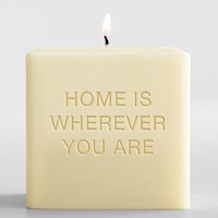personalized artisan candles from RedEnvelope.com