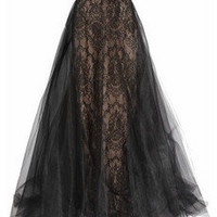 Marchesa Tulle and lace gown NET-A-PORTER.COM