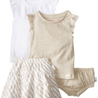 Burt's Bees Baby Girls Organic  Tanks Reversible Skirt and Diaper Cover