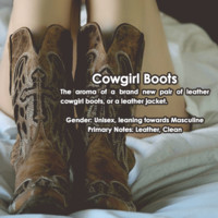 Cowgirl Boots Jewelry Candle Scent Sampler