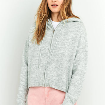 BDG Knitted Hoodie   Urban Outfitters