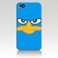 Perry the Platypus Hard Case Cover Skin for Iphone 4 4s Iphone4 At&t Sprint Verizon Retail Packing