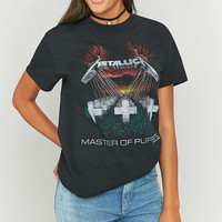 Long Gone Metallica Puppets Black T-shirt - Urban Outfitters