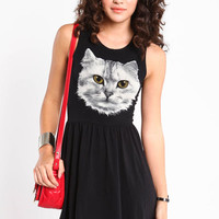 OPEN BACK KITTY DRESS