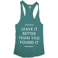 Leave it Better Racerback Tank