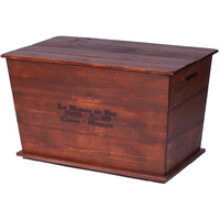 Vineyard Cart Coffee Table (Made from Wine Barrels)