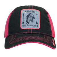 """Simply Southern """"Wild & Free"""" Hat"""