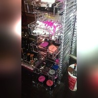 Clear Organizer with 10 Removable Drawers