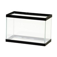 Aqueon Black Tank 2 1/2 Gal. Mini 12x6x8