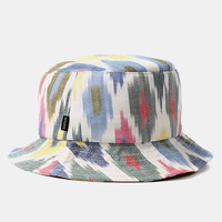 The Quiet Life Ikat Bucket Hat - Bright at Urban Industry