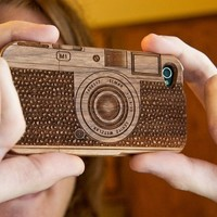 onfancy — Wood camera iPhone Case