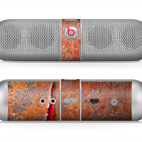 The Rusty Metal with Jagged Edge Skin for the Beats by Dre Pill Bluetooth Speaker