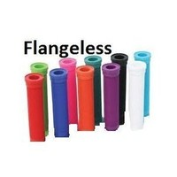 ODI LONGNECK GRIPS Flangeless For BMX and Scooters BLACK