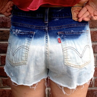 Bleached and Studded Vintage Levis Shorts