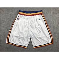 Golden State Warriors Basketball Classic White Sports Shorts - Best Deal Online
