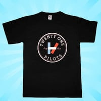 twenty one pilots black T-shirt