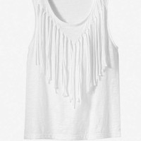 FRINGE TANK from EXPRESS