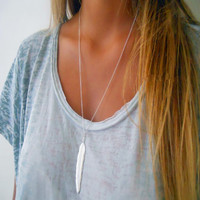 1pc Vintage Long Necklace