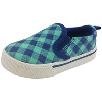 OshKosh B'Gosh Boy's and Girl's Blue & Turquoise Slip-Ons