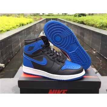 "Air Jordan 1 Retro High OG ""Royal"" Basketball Shoes For Women and Man Size"
