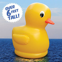Big Mouth Toys Giant Inflatable Rubber Duck
