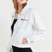 Champion Cropped Coach Jacket | Urban Outfitters