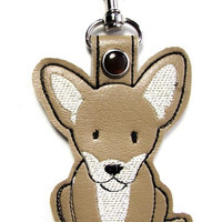 Dog Breed Key Tag Clips