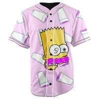 Lean Squishee Button Up Baseball Jersey