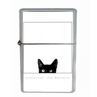 Funny Cats Design Windproof Lighter