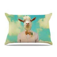 "Natt ""Passenger 6F"" Goat Pillow Case"