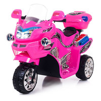 Pink FX 3 Motorcycle Ride-On