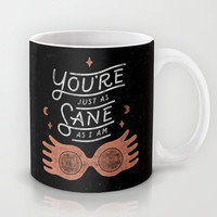 Sane Mug by WEAREYAWN
