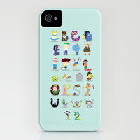 Animated characters abc iPhone & iPod Case by Maria Jose Da Luz