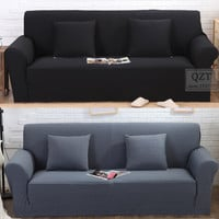 Case sofa cover jacquard thicken high quality fabric corner couch slip couch colorful stretch l shaped comfortable sofa covers