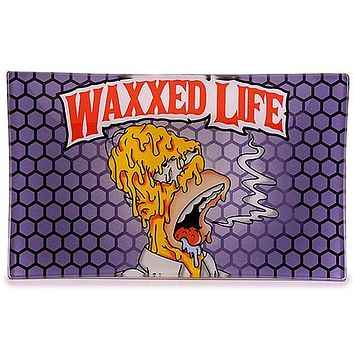 Waxxed Life Glass Tray