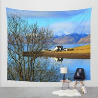 Bliss Wall Tapestry by Haroulita | Society6
