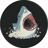 PopSockets: Collapsible Grip and Stand for Phones and Tablets - Shark