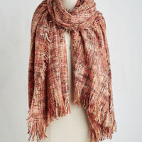 Cozy Does It Scarf in Pink by ModCloth