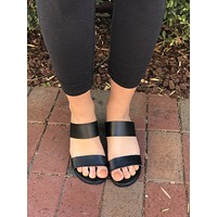 Roll With It Heels- Black