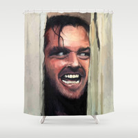 Fear. Shower Curtain by Emiliano Morciano (Ateyo)