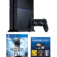 PlayStation 4 STAR WARS Battlefront 500GB Bundle with PlayStation Plus 1 Year Membership