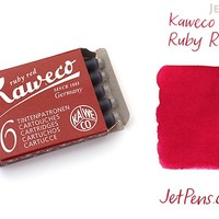 JetPens.com - Kaweco Ruby Red Ink - 6 Cartridges