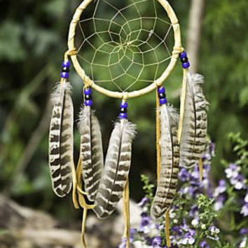 Large Handmade Apache Dream Catcher
