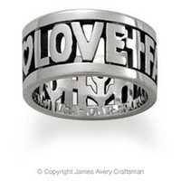 Faith, Hope and Love Ring from James Avery
