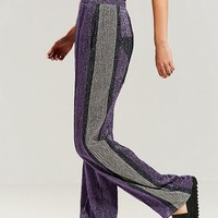 KYE Metallic Star Track Pant | Urban Outfitters