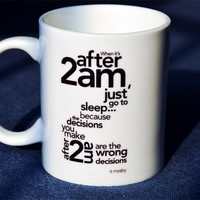 New How I Met Your Mother After 2am Go to Sleep Quality Ceramic Coffee Mug Cup---Loveful