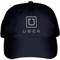 New Embroidered UBER Logo Taxi Car Hire Service Rideshare Driver Baseball Hat